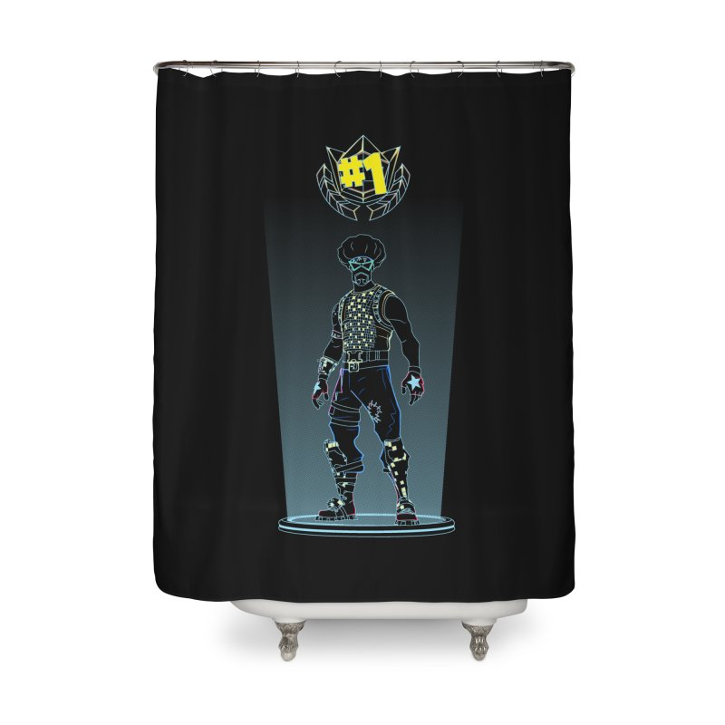Shadow of the Funk Home Shower Curtain by Donnie's Artist Shop
