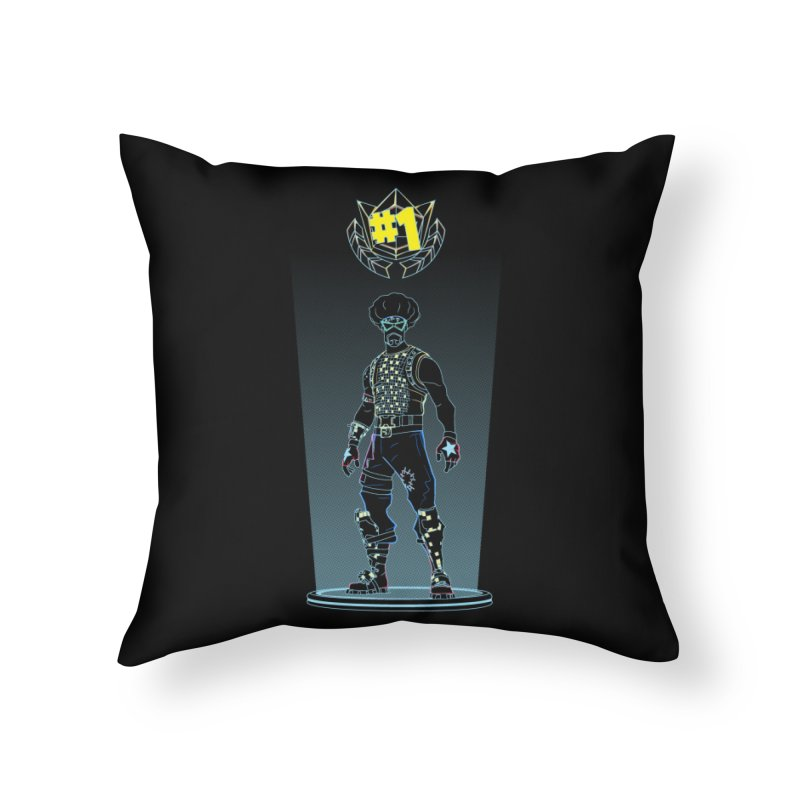 Shadow of the Funk Home Throw Pillow by Donnie's Artist Shop