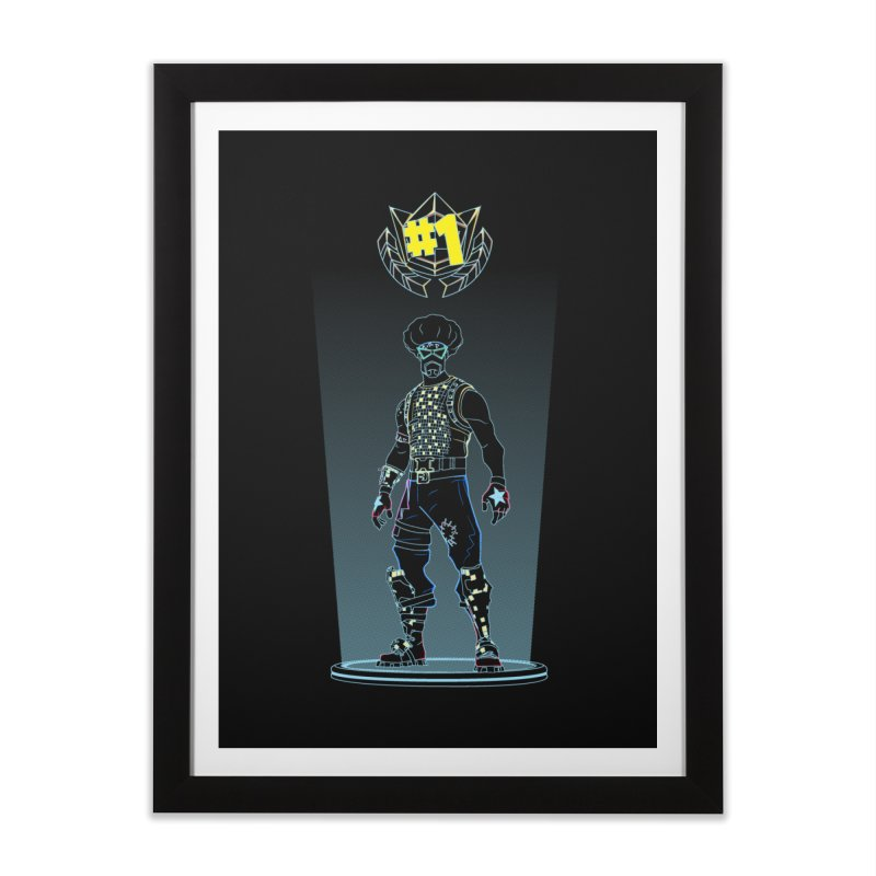 Shadow of the Funk Home Framed Fine Art Print by Donnie's Artist Shop