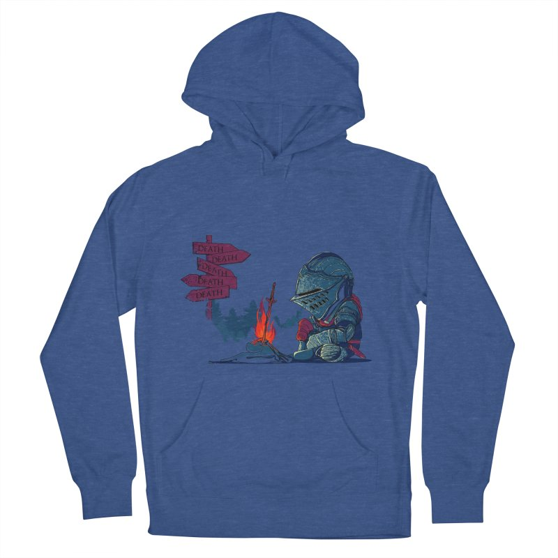 Dark Deathtiny Women's French Terry Pullover Hoody by Donnie's Artist Shop