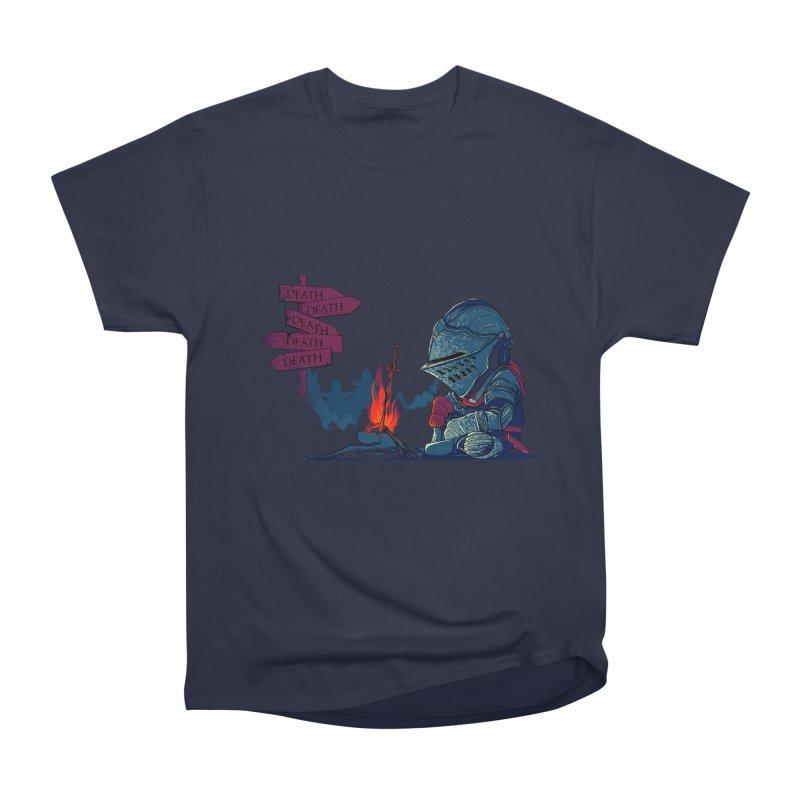 Dark Deathtiny Men's Heavyweight T-Shirt by Donnie's Artist Shop