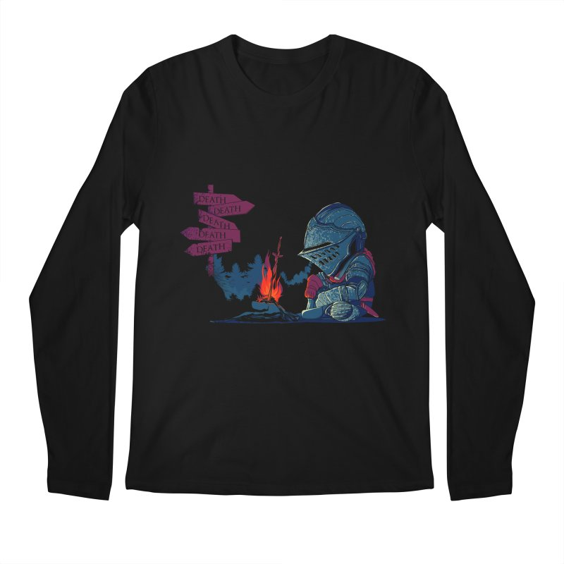 Dark Deathtiny Men's Longsleeve T-Shirt by Donnie's Artist Shop