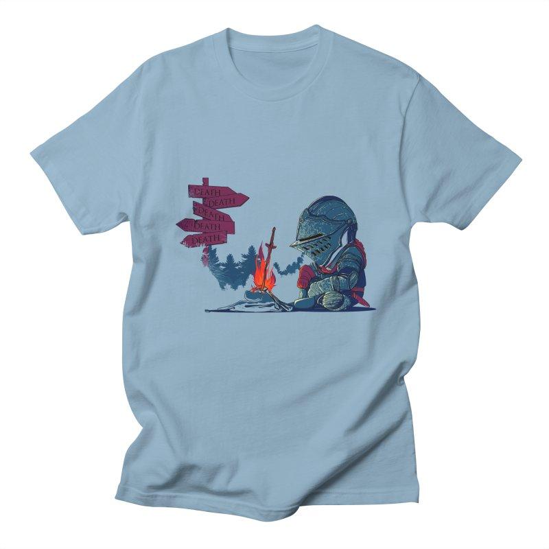 Dark Deathtiny Men's T-shirt by Donnie's Artist Shop