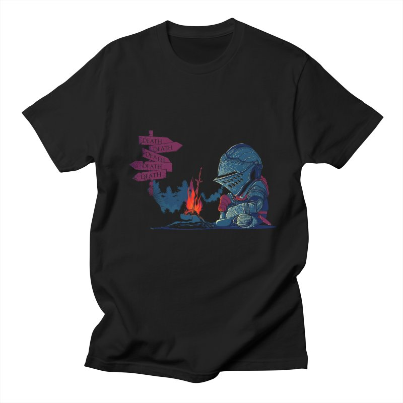 Dark Deathtiny Men's Regular T-Shirt by Donnie's Artist Shop