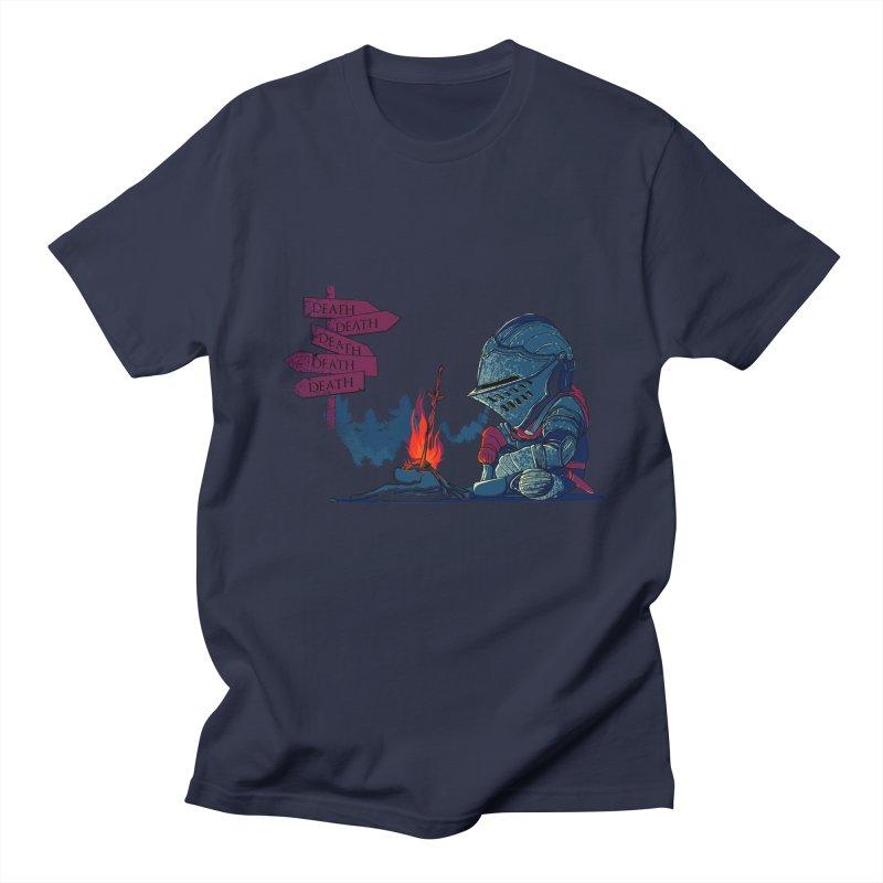 Dark Deathtiny Men's Regular T-Shirt by Donnie's Artist Shop
