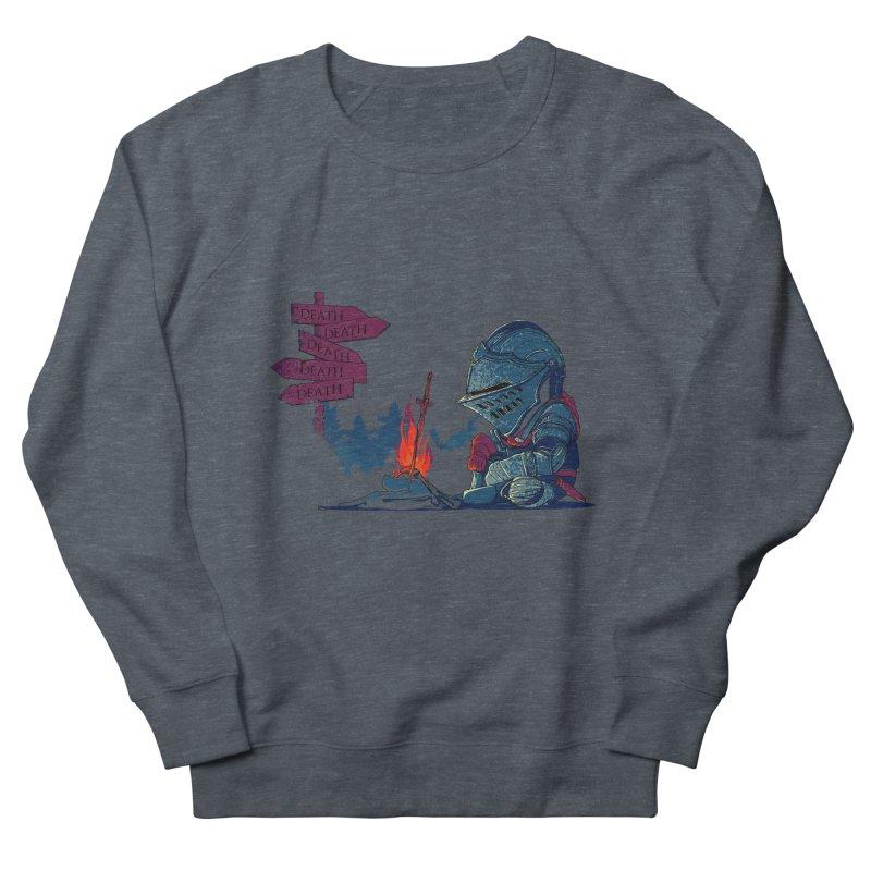 Dark Deathtiny Women's French Terry Sweatshirt by Donnie's Artist Shop