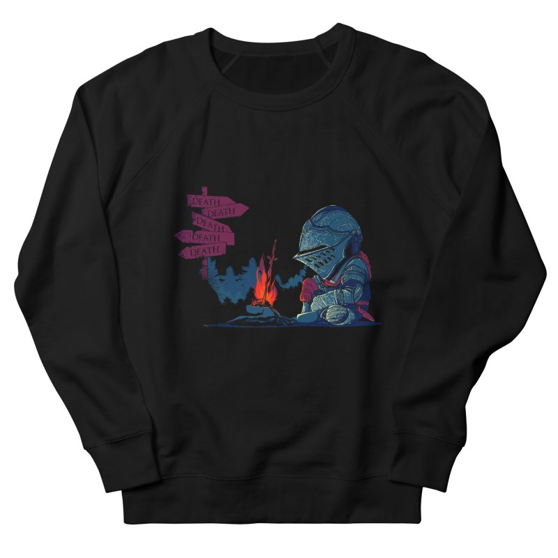 Dark Deathtiny Women's French Terry Sweatshirt by Donnie's Artist Shop