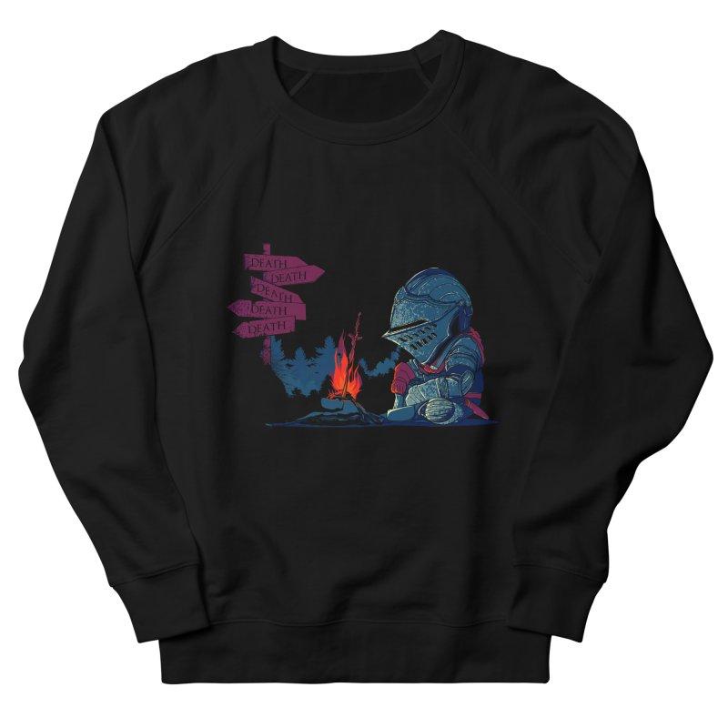 Dark Deathtiny Men's French Terry Sweatshirt by Donnie's Artist Shop
