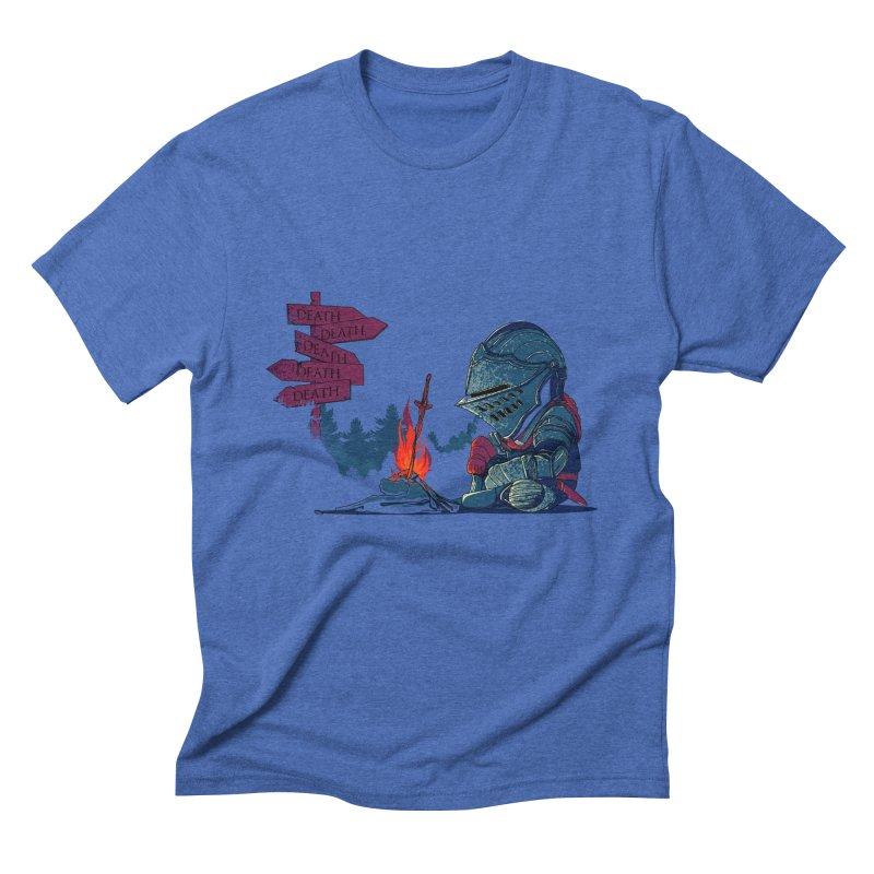 Dark Deathtiny Men's Triblend T-shirt by Donnie's Artist Shop