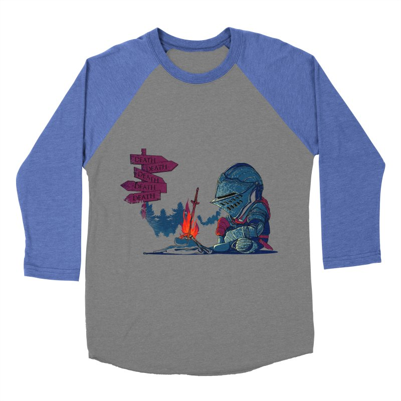 Dark Deathtiny Women's Baseball Triblend T-Shirt by Donnie's Artist Shop