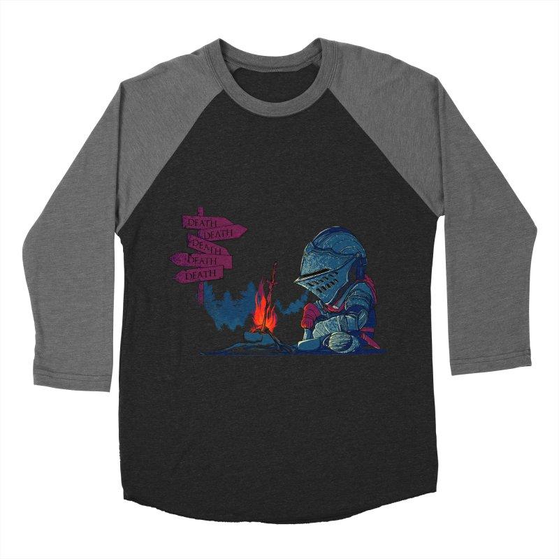 Dark Deathtiny Men's Baseball Triblend Longsleeve T-Shirt by Donnie's Artist Shop