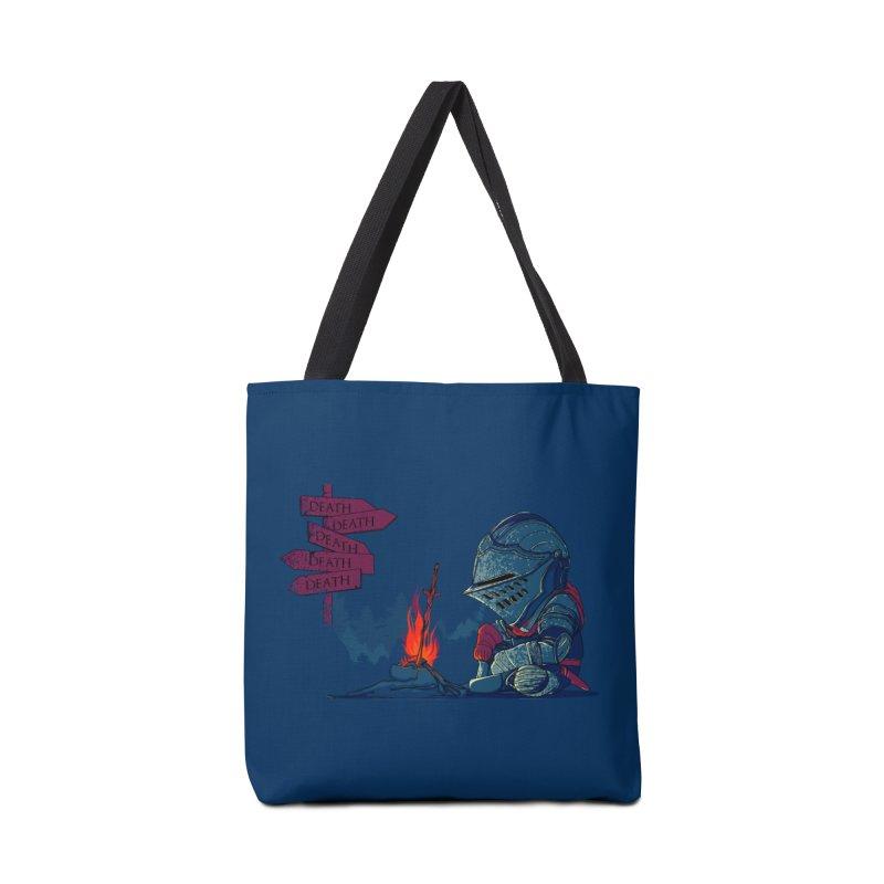 Dark Deathtiny Accessories Bag by Donnie's Artist Shop