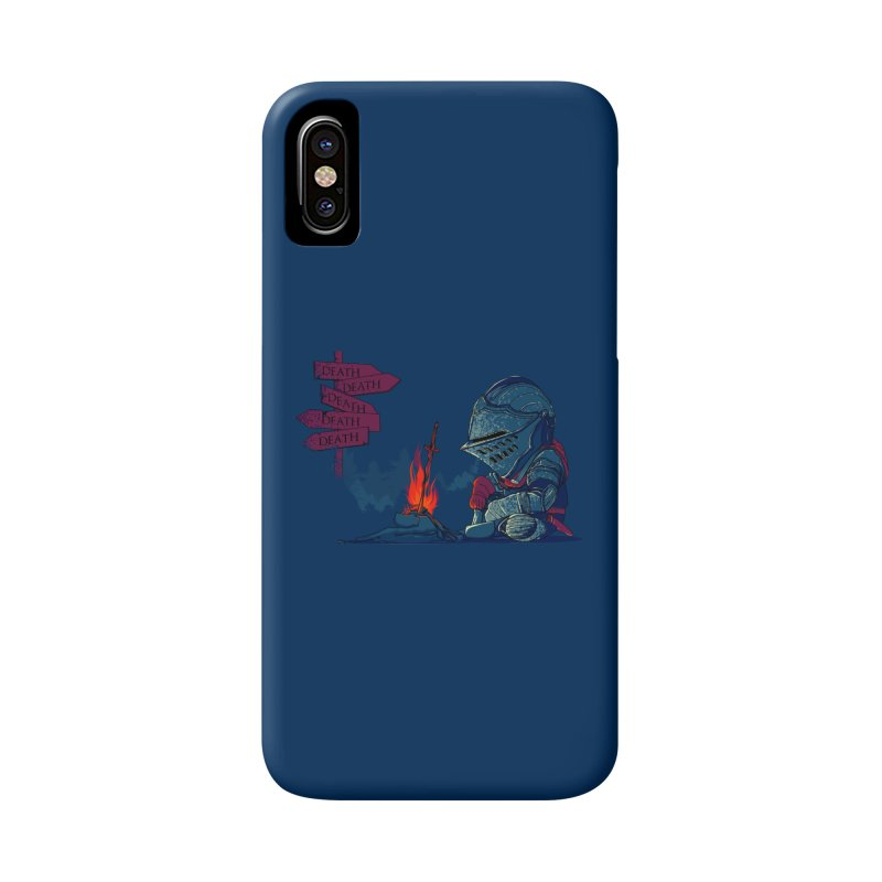 Dark Deathtiny Accessories Phone Case by Donnie's Artist Shop