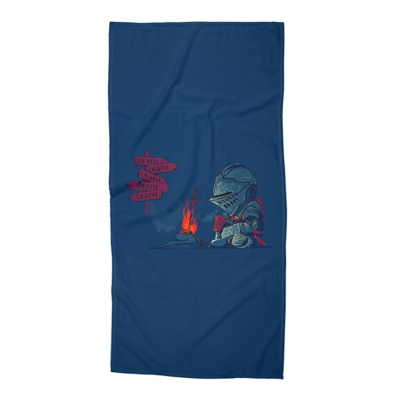 Dark Deathtiny Accessories Beach Towel by Donnie's Artist Shop