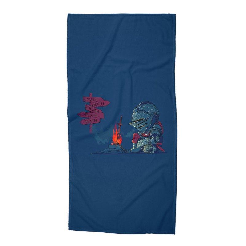Dark Deathtiny Accessories Beach Towel by Donnie's Artist Shop