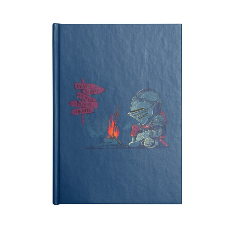 Dark Deathtiny Accessories Notebook by Donnie's Artist Shop