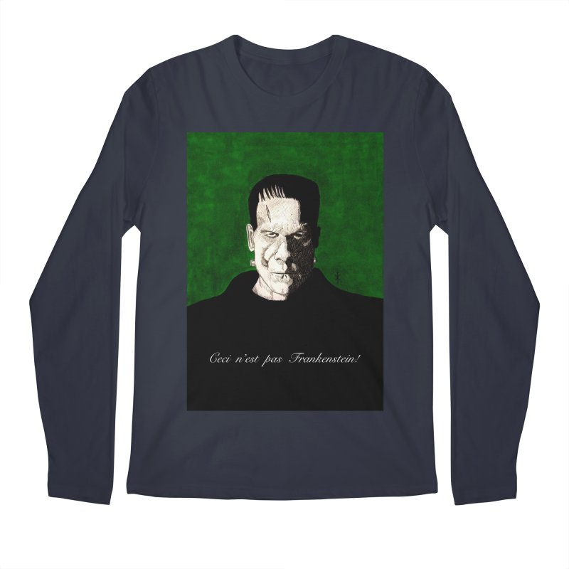 This is not Frankenstein Men's Longsleeve T-Shirt by donnovanknight's Artist Shop