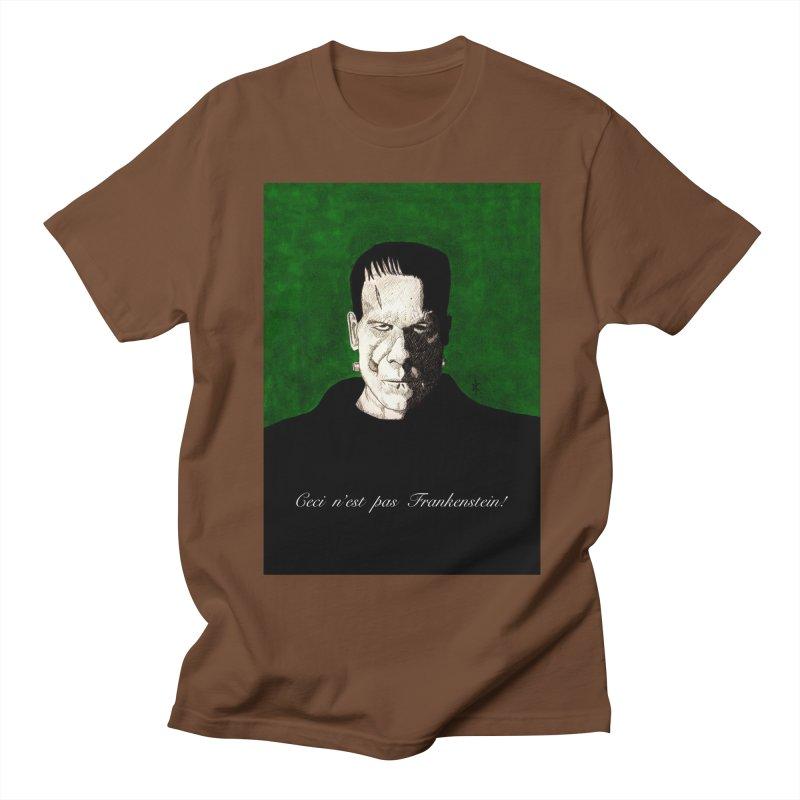 This is not Frankenstein Men's T-shirt by donnovanknight's Artist Shop