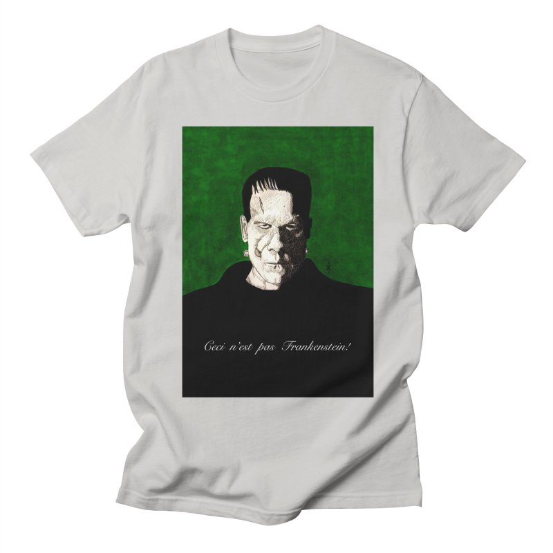This is not Frankenstein Men's T-shirt by donnovanknight's Artist Shop