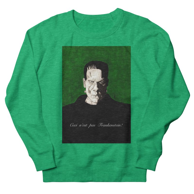 This is not Frankenstein Women's Sweatshirt by donnovanknight's Artist Shop