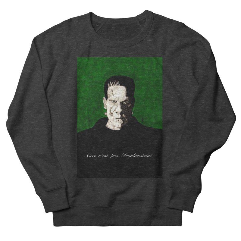 This is not Frankenstein Men's Sweatshirt by donnovanknight's Artist Shop