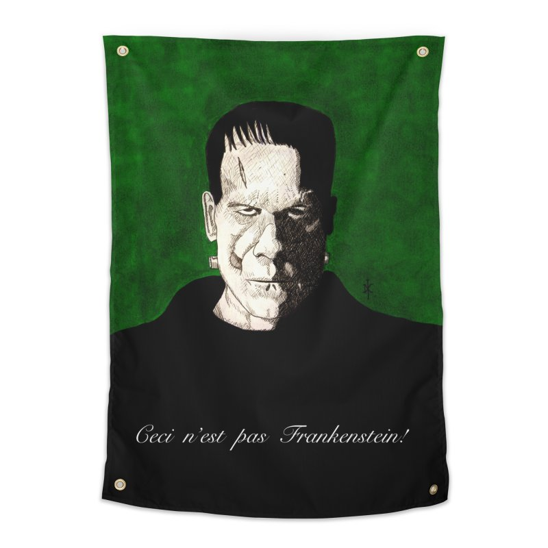 This is not Frankenstein Home Tapestry by donnovanknight's Artist Shop