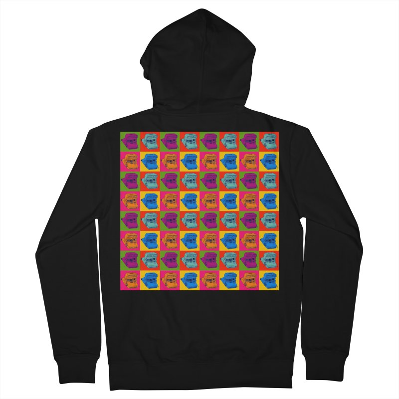 Mini Instant Pop Men's Zip-Up Hoody by donnovanknight's Artist Shop