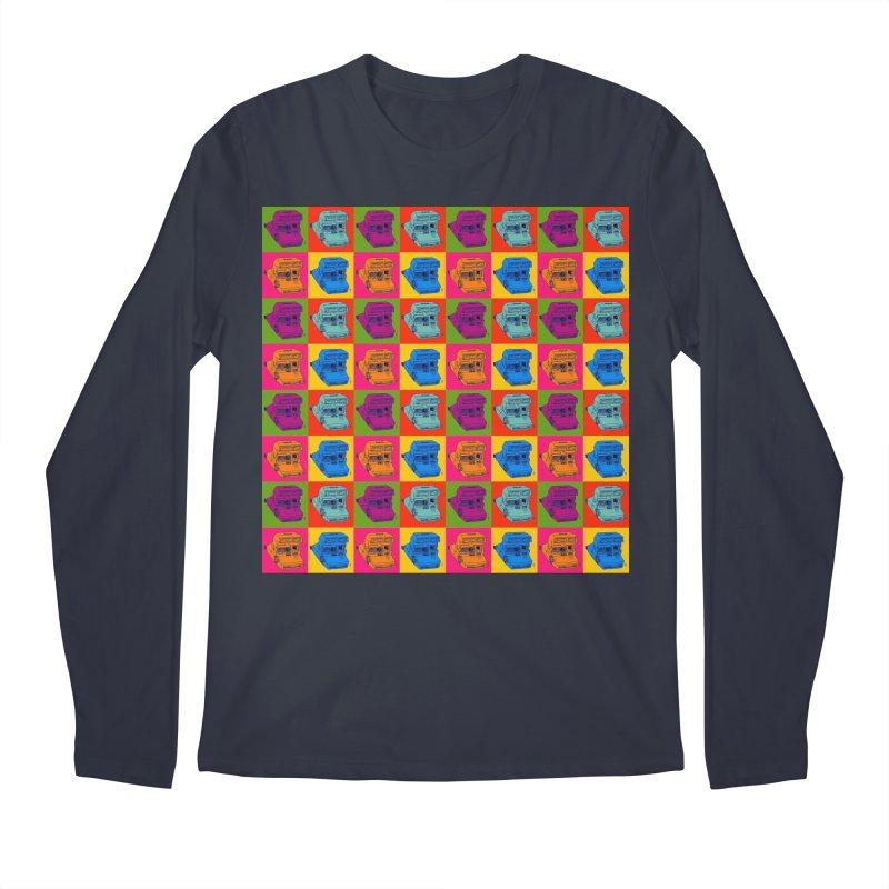 Mini Instant Pop Men's Longsleeve T-Shirt by donnovanknight's Artist Shop