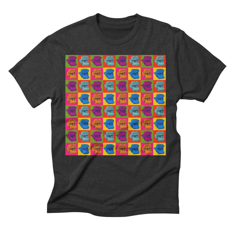 Mini Instant Pop Men's Triblend T-shirt by donnovanknight's Artist Shop