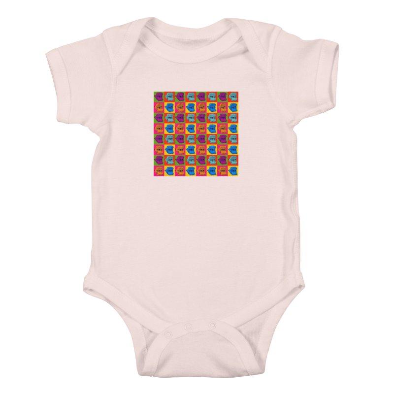 Mini Instant Pop Kids Baby Bodysuit by donnovanknight's Artist Shop