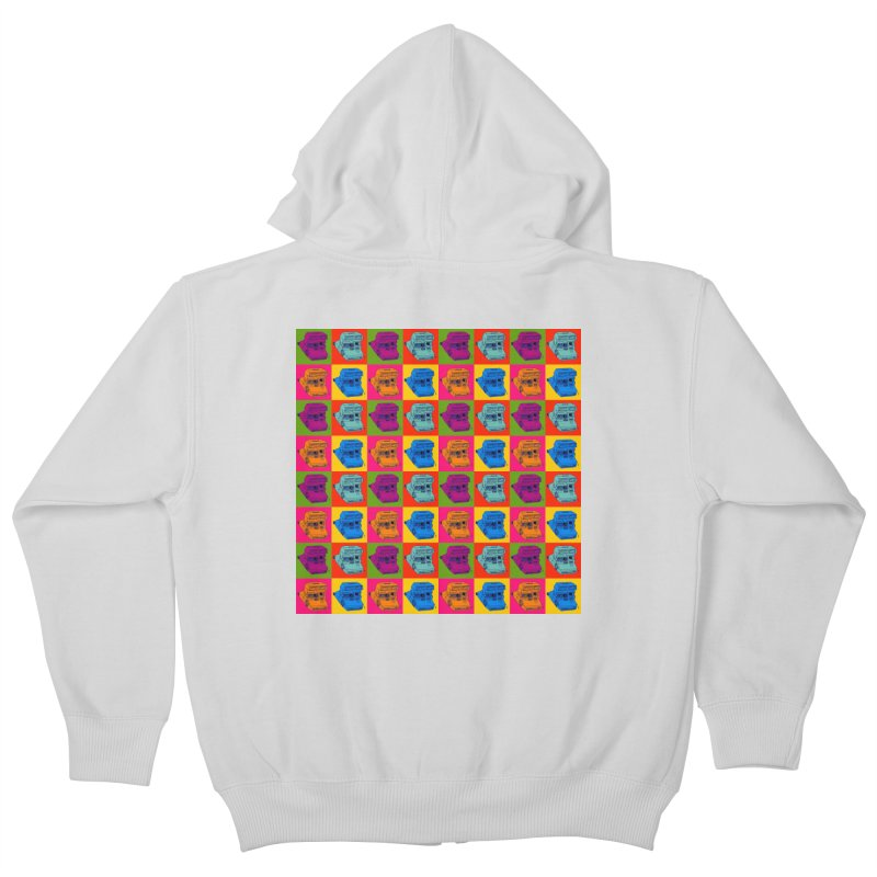 Mini Instant Pop Kids Zip-Up Hoody by donnovanknight's Artist Shop