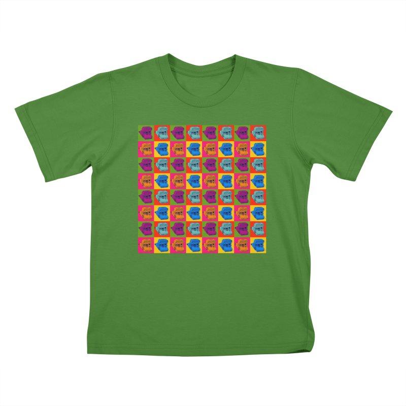Mini Instant Pop Kids T-Shirt by donnovanknight's Artist Shop