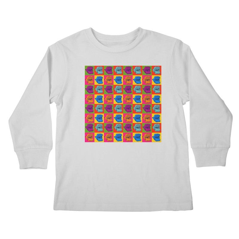 Mini Instant Pop Kids Longsleeve T-Shirt by donnovanknight's Artist Shop