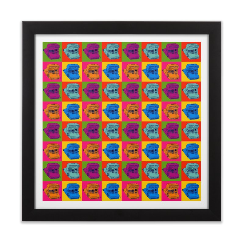 Mini Instant Pop Home Framed Fine Art Print by donnovanknight's Artist Shop