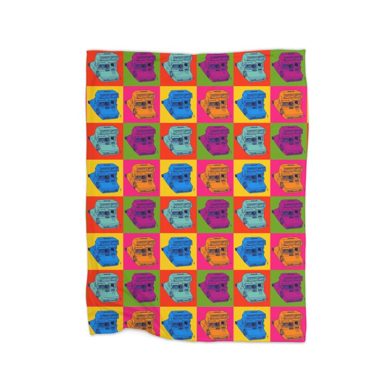 Mini Instant Pop Home Blanket by donnovanknight's Artist Shop