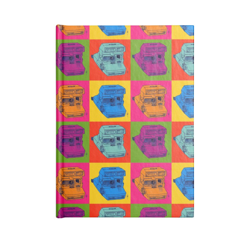 Mini Instant Pop Accessories Notebook by donnovanknight's Artist Shop