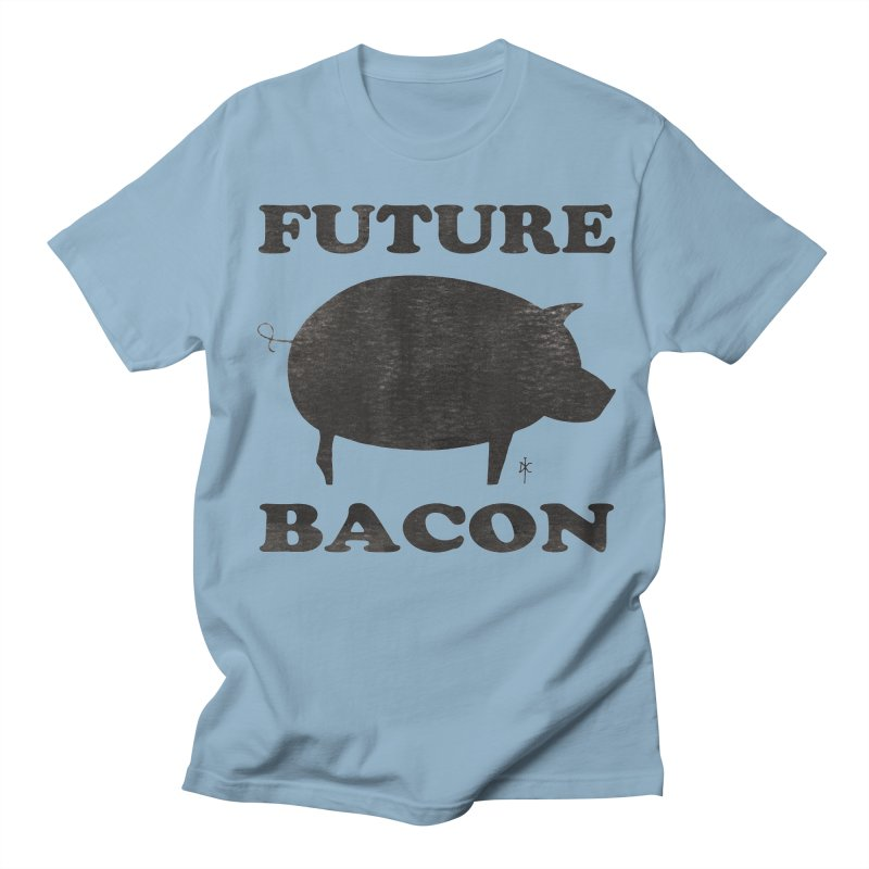 Future Bacon Men's T-Shirt by donnovanknight's Artist Shop