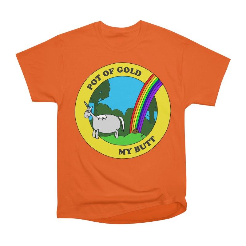Pot of Gold, My Butt Men's Classic T-Shirt by donnovanknight's Artist Shop