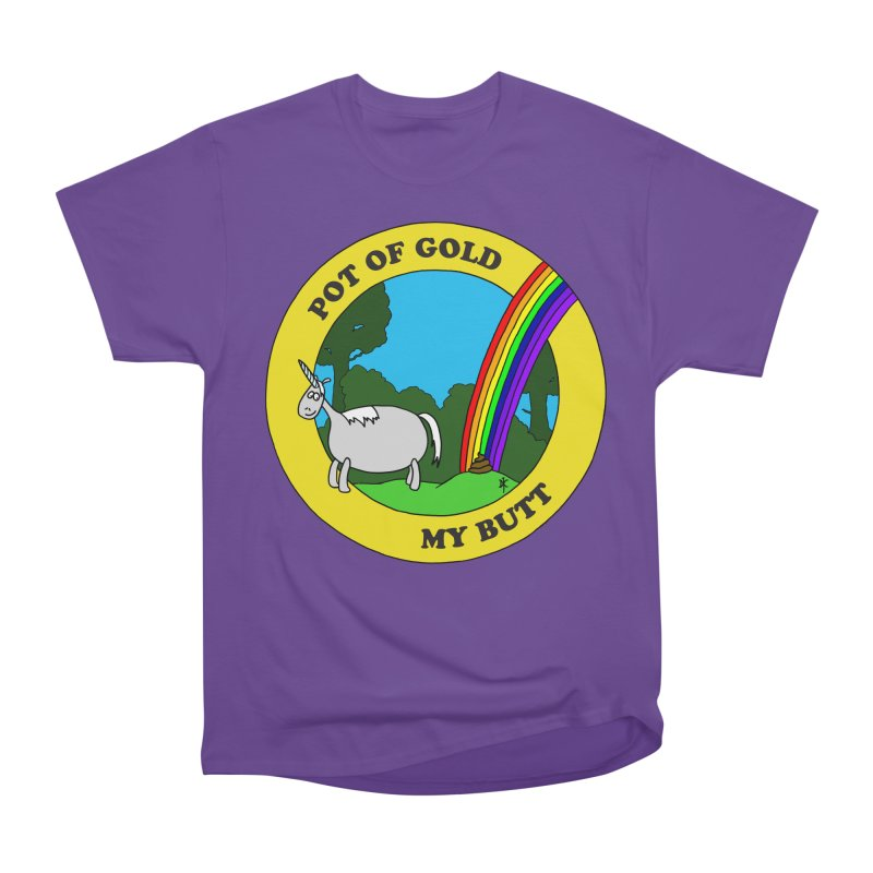 Pot of Gold, My Butt Men's Classic T-Shirt by donnovanknight's Artist Shop