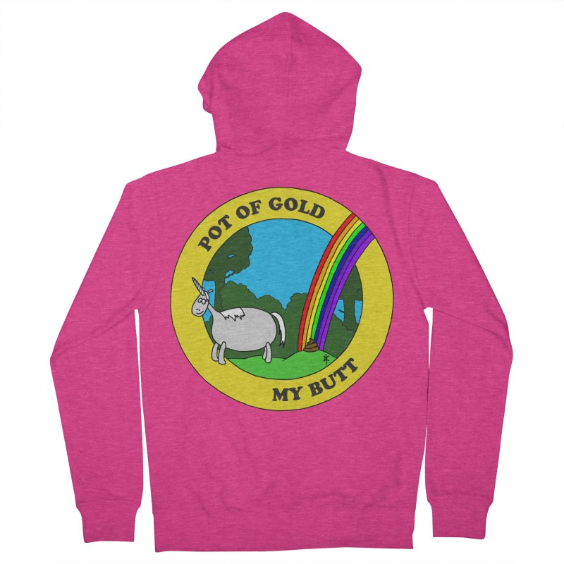 Pot of Gold, My Butt Women's Zip-Up Hoody by donnovanknight's Artist Shop
