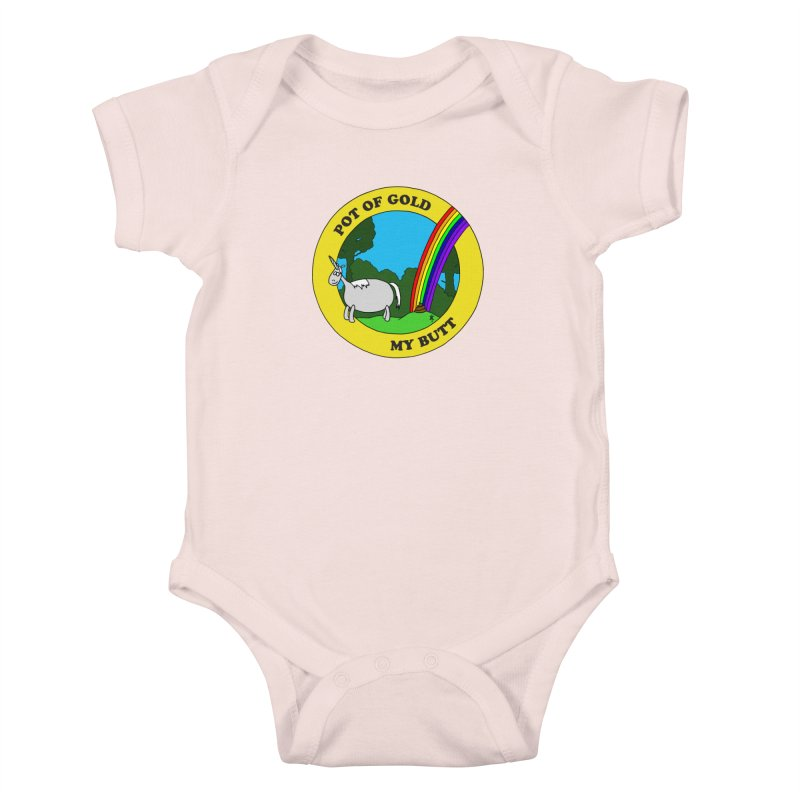 Pot of Gold, My Butt Kids Baby Bodysuit by donnovanknight's Artist Shop