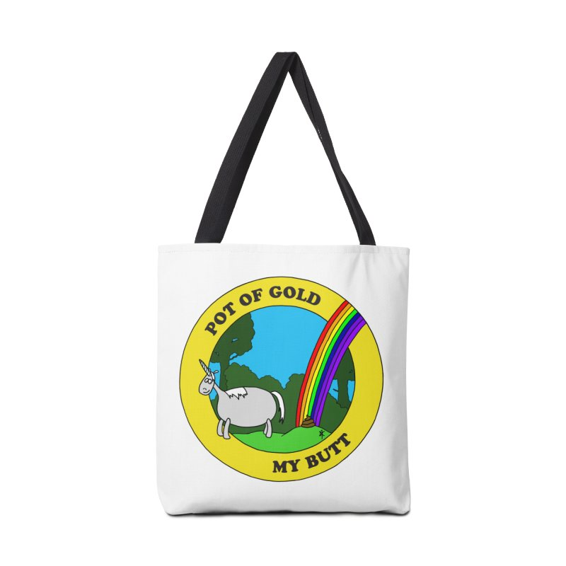 Pot of Gold, My Butt Accessories Bag by donnovanknight's Artist Shop