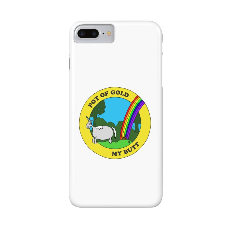 Pot of Gold, My Butt Accessories Phone Case by donnovanknight's Artist Shop