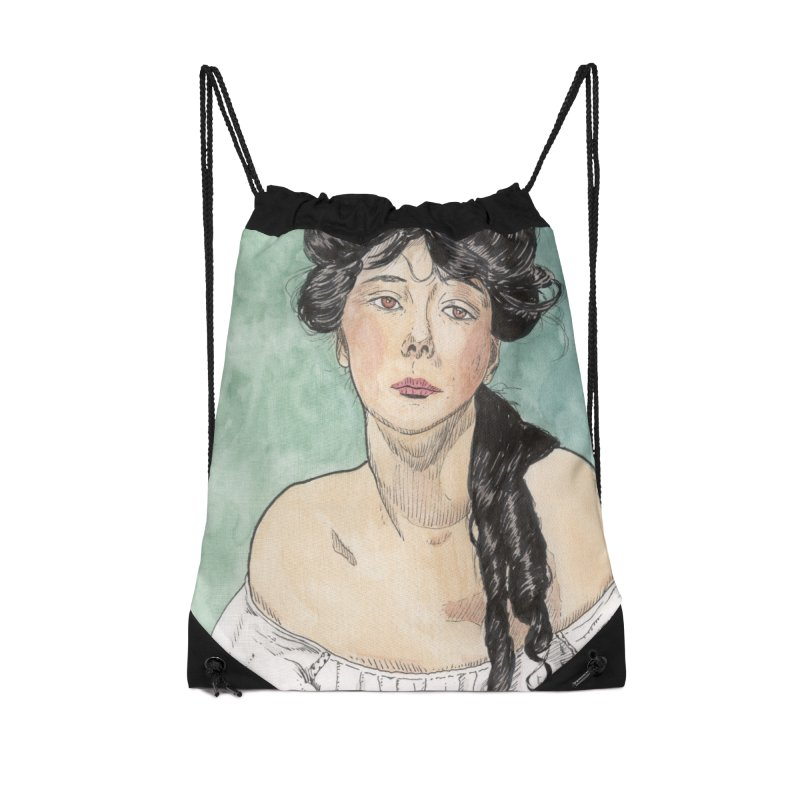 Evelyn Nesbit - Gibson Girl Accessories Bag by donnovanknight's Artist Shop