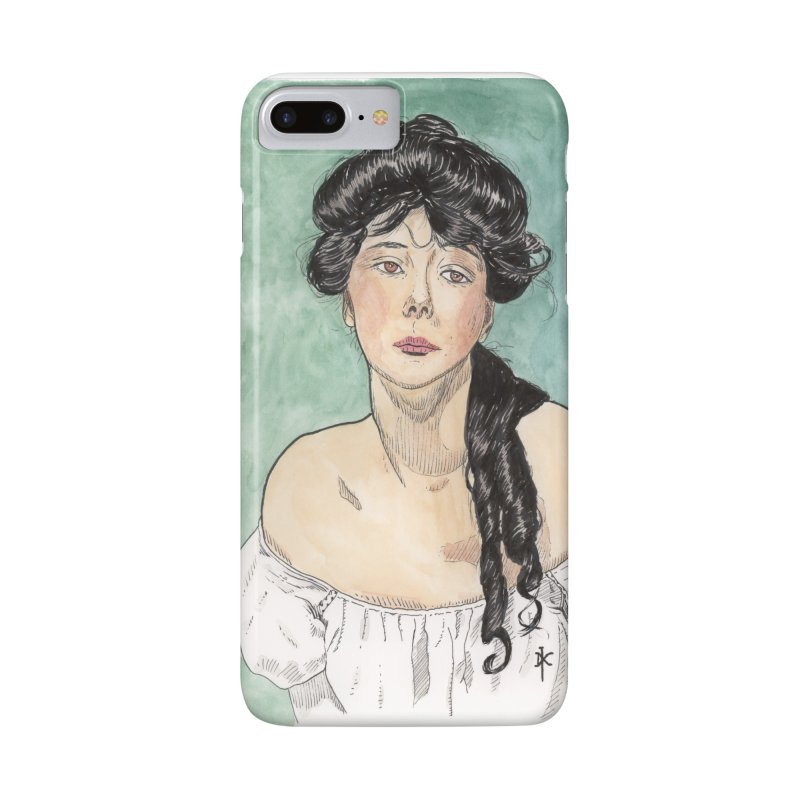 Evelyn Nesbit - Gibson Girl Accessories Phone Case by donnovanknight's Artist Shop