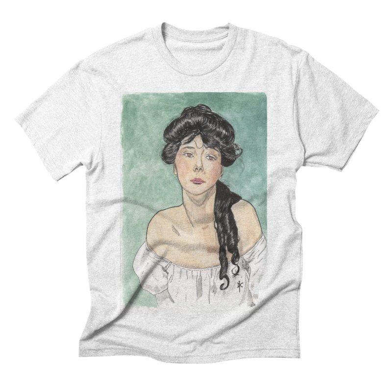 Evelyn Nesbit - Gibson Girl Men's Triblend T-shirt by donnovanknight's Artist Shop