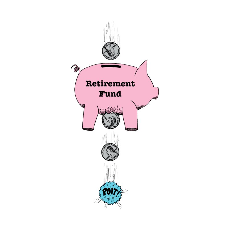 Piggy Bank - Retirement Fund? by donnovanknight's Artist Shop