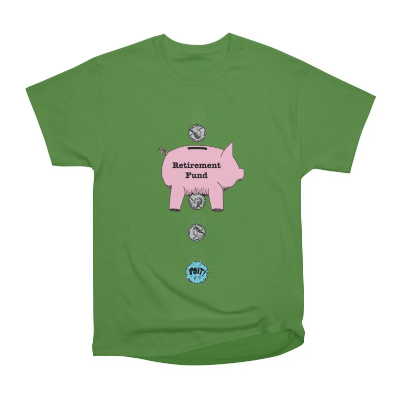 Piggy Bank - Retirement Fund? Men's Classic T-Shirt by donnovanknight's Artist Shop
