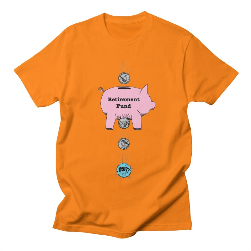 Piggy Bank - Retirement Fund? Men's T-shirt by donnovanknight's Artist Shop