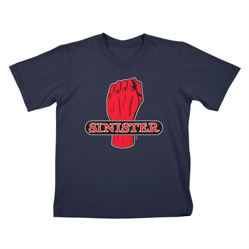 Are you Sinister? Left Handers Day Kids T-shirt by donnovanknight's Artist Shop